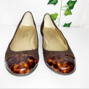 MARC FISHER Mfcopley2 Brown Flats